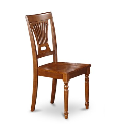 Rutledge Side Chair (Set of 2) Color: Saddle Brown