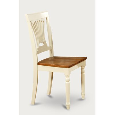 Rutledge Side Chair (Set of 2) Finish: Buttermilk and Cherry