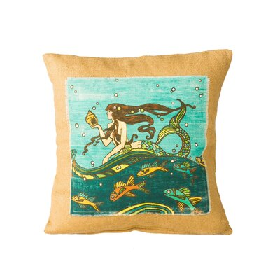 Takiara Mermaid Throw Pillow