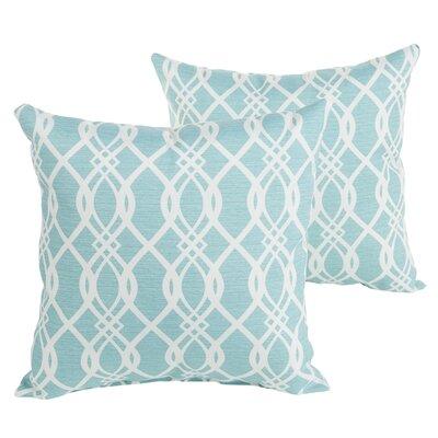 Brockway Indoor/Outdoor Throw Pillow Size: 22 H x 22 W x 6 D