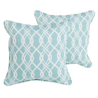 Brookwood Indoor/Outdoor Corded Throw Pillow Size: 22 H x 22 W x 6 D