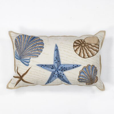 Maxwellton Seashells Cotton Lumbar Pillow