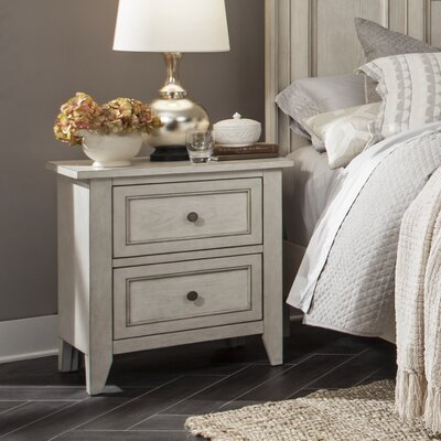 Stoughton 2 Drawer Nightstand