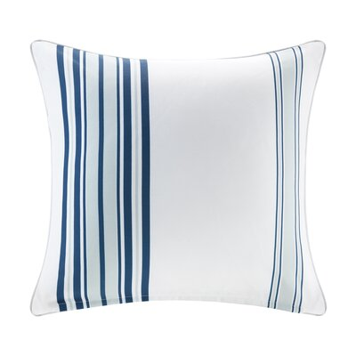 Corbin Outdoor Throw Pillow Size: 20 H x 20 W x 5 D, Color: Navy