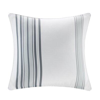 Corbin Outdoor Polyester Throw Pillow Size: 20 H x 20 W x 5 D, Color: Gray