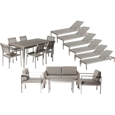Hillwood 17 Piece Seating Group with Cushion