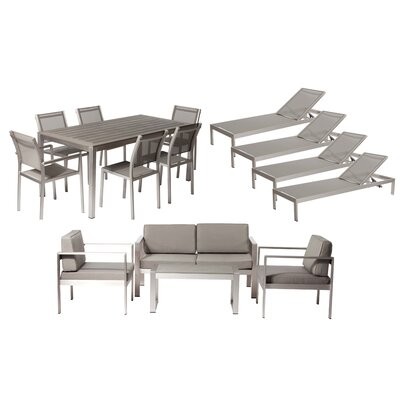 Hillwood 15 Piece Seating Group with Cushion