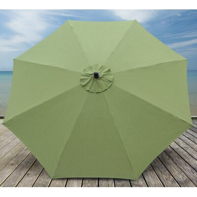 10 Madilyn Market Umbrella Color: Spectrum Cilantro