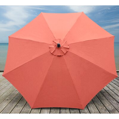10 Madilyn Market Umbrella Color: Spectrum Grenadine