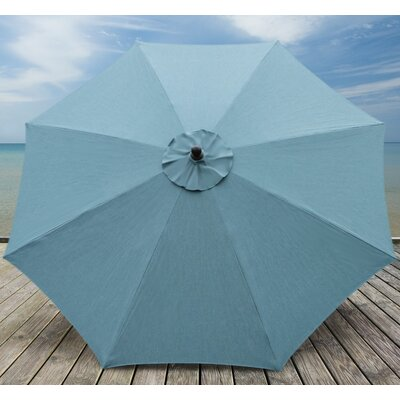 10 Madilyn Market Umbrella Color: Cast Lagoon
