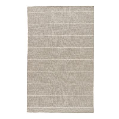 Hardwick Gray/Ivory Area Rug Rug Size: Rectangle 4 x 6
