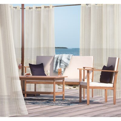 Isme Indoor/Outdoor Single Curtain Panel