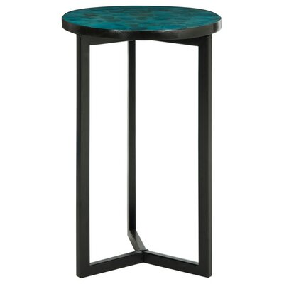 Meleri End Table Finish: Turquoise