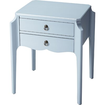 Joliet End Table Finish: Glossy Wedgewood