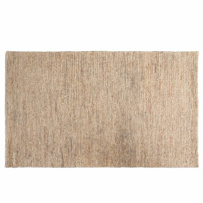 Greenville Hand-Loomed Natural Hemp Area Rug Rug Size: Rectangle 5 x 8