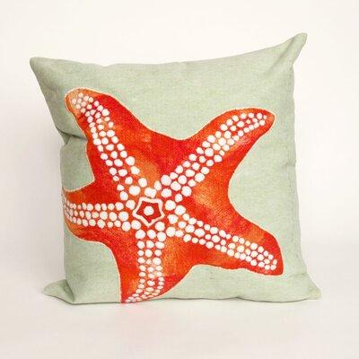 Clarkstown Starfish Throw Pillow