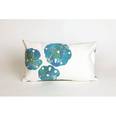 Rexford Sand Dollar Lumbar Pillow Color: Blue