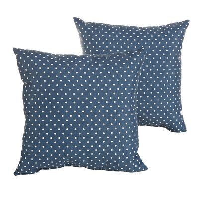 Rundell Mini Polka Dots Indoor/Outdoor Throw Pillow Size: 18 H x 18 W x 6 D