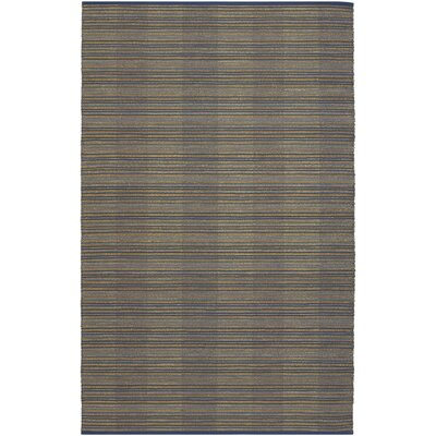Fairfax Gray/Yellow Area Rug Rug Size: 2 x 3