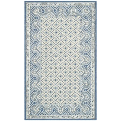 Roblin Ivory/Light Blue Rug