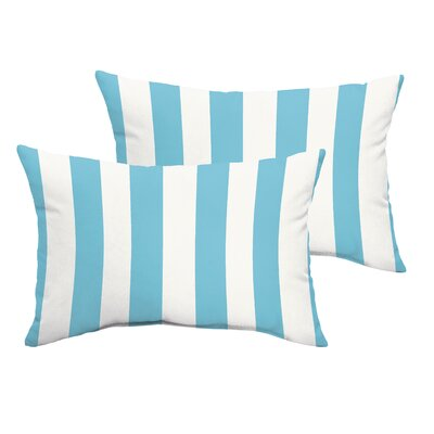 Fitzsimmons Stripe Indoor/Outdoor Lumbar Pillow Set