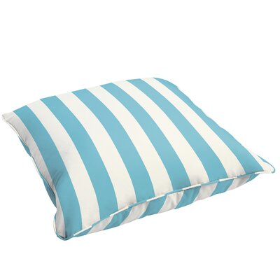 Fitzsimmons Corded Stripe Indoor/Outdoor Floor Pillow