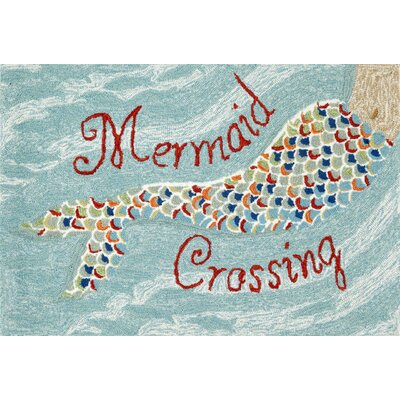 Kaye Mermaid Crossing Doormat