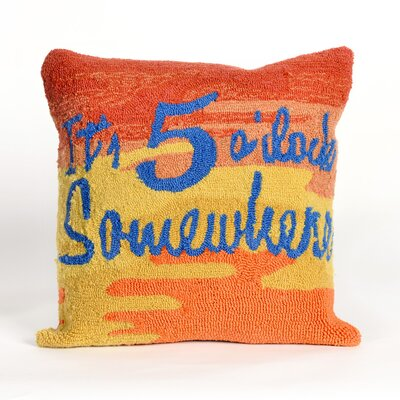 Cobleskill Its 5 Oclock Sunset Throw Pillow