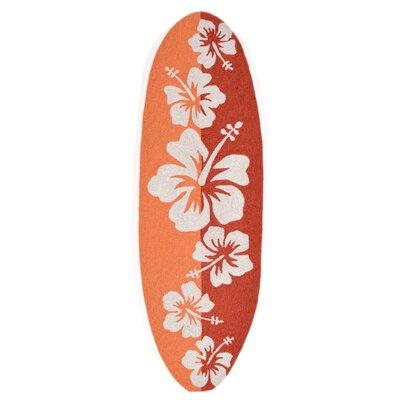 Shediac Hand-Tufted Orange Indoor/Outdoor Area Rug
