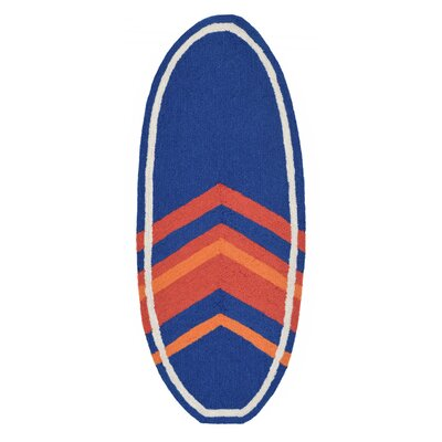 Clintonville Blue/Orange Area Rug