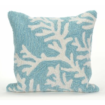 Shediac Coral Indoor/Outdoor Throw Pillow
