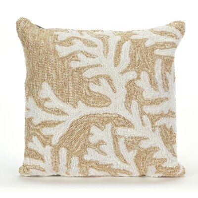 Adeliza Coral Indoor/Outdoor Throw Pillow Color: Neutral