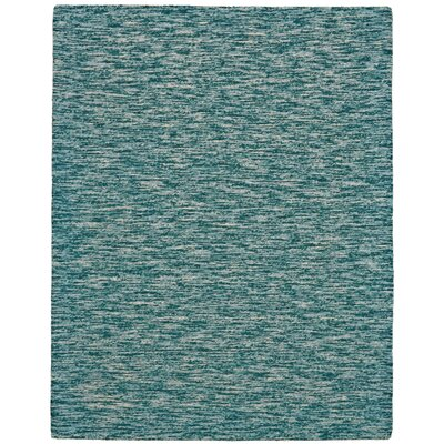 Isabela Hand-Tufted Teal Area Rug