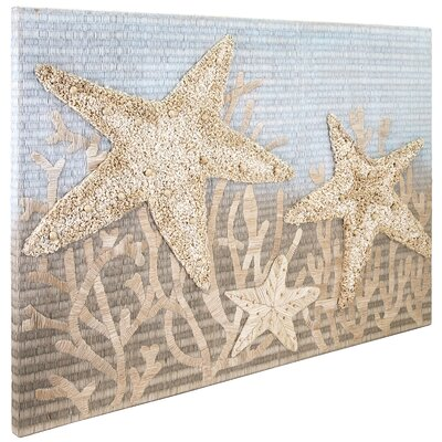 Beige Starfish Wall Decor