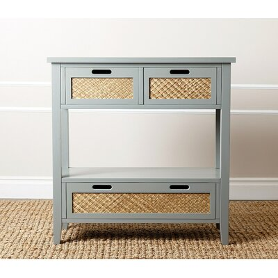 Villas Console Table Color: Steel Blue