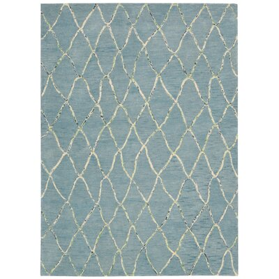 Mahoney Handmade Wave Area Rug Rug Size: Rectangle 36 x 56