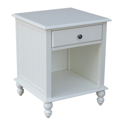 Witherspoon End Table Finish: Beach White