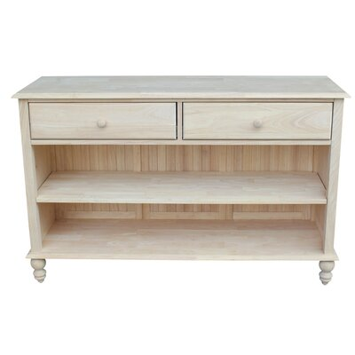 Dason Console Table Finish: Beach White