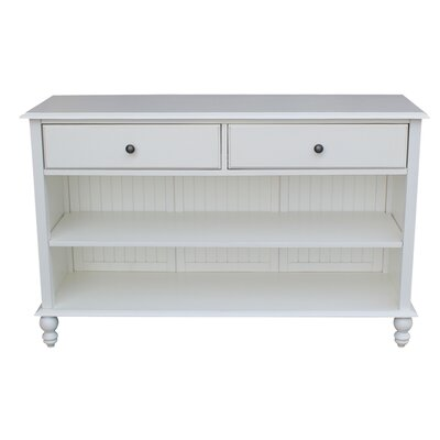 Witherspoon Console Table Finish: Beach White