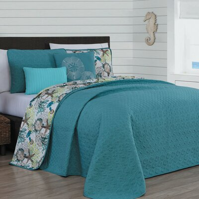 Averi 5 Piece Quilt Set Size: Queen