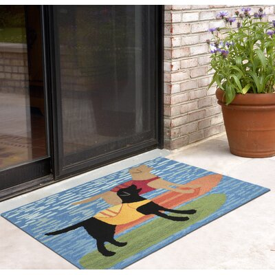 Salem Surfboard Dogs Doormat
