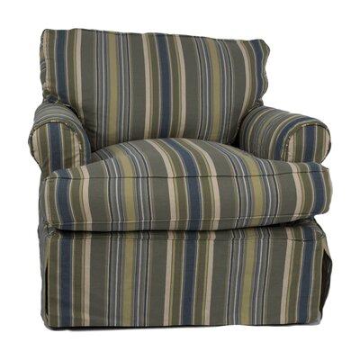 Coral Gables Cotton Armchair Slipcover