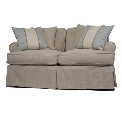 Coral Gables T-Cushion Loveseat Slipcover