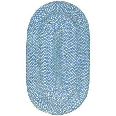 Clearview Blue Area Rug Rug Size: Concentric 4 x 6