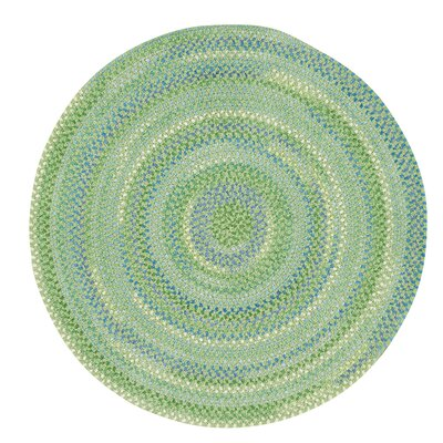 Peekskill Sea Monster Green Area Rug Rug Size: Round 3