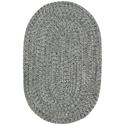 Lemon Grove Smoke Variegated Outdoor Area Rug Rug Size: Oval 23 x 4