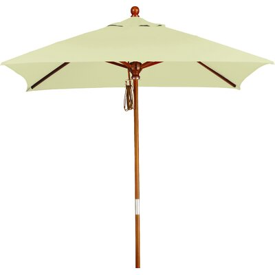 6' Overmoor Square Market Umbrella Fabric: Sunbrella A Canvas