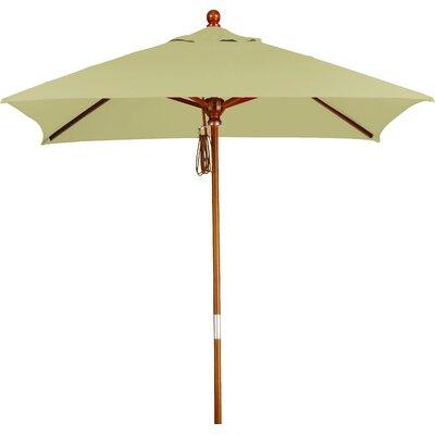 6 Overmoor Square Market Umbrella Fabric: Sunbrella A Antique Beige