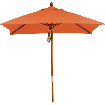 6 Overmoor Square Market Umbrella Fabric: Sunbrella AA Tuscan