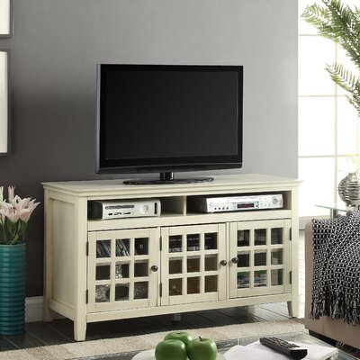 Naples Park 48 TV Stand Finish: Ivory
